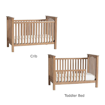 Best Price Low-Profile Pine Wood Baby Crib Convertible 3 in 1 for Kids
