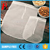 Organic cotton Nut Milk Bag Filter Bag with drawstring