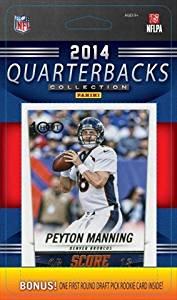 C&I Collectibles 2014 Score NFL Football Quarterbacks Collection 10 Card QB Set