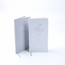 Hard cover notebook custom logo book office board notebook