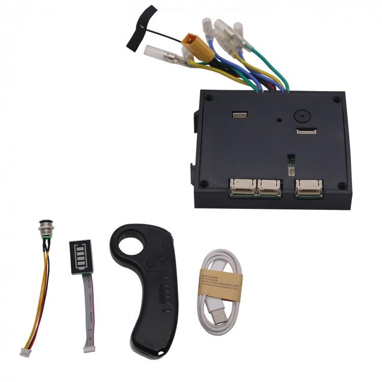 10S 36V Electric Skateboard Controller Longboards + Remote Control Dual Motors ESC Substitute Kit фото