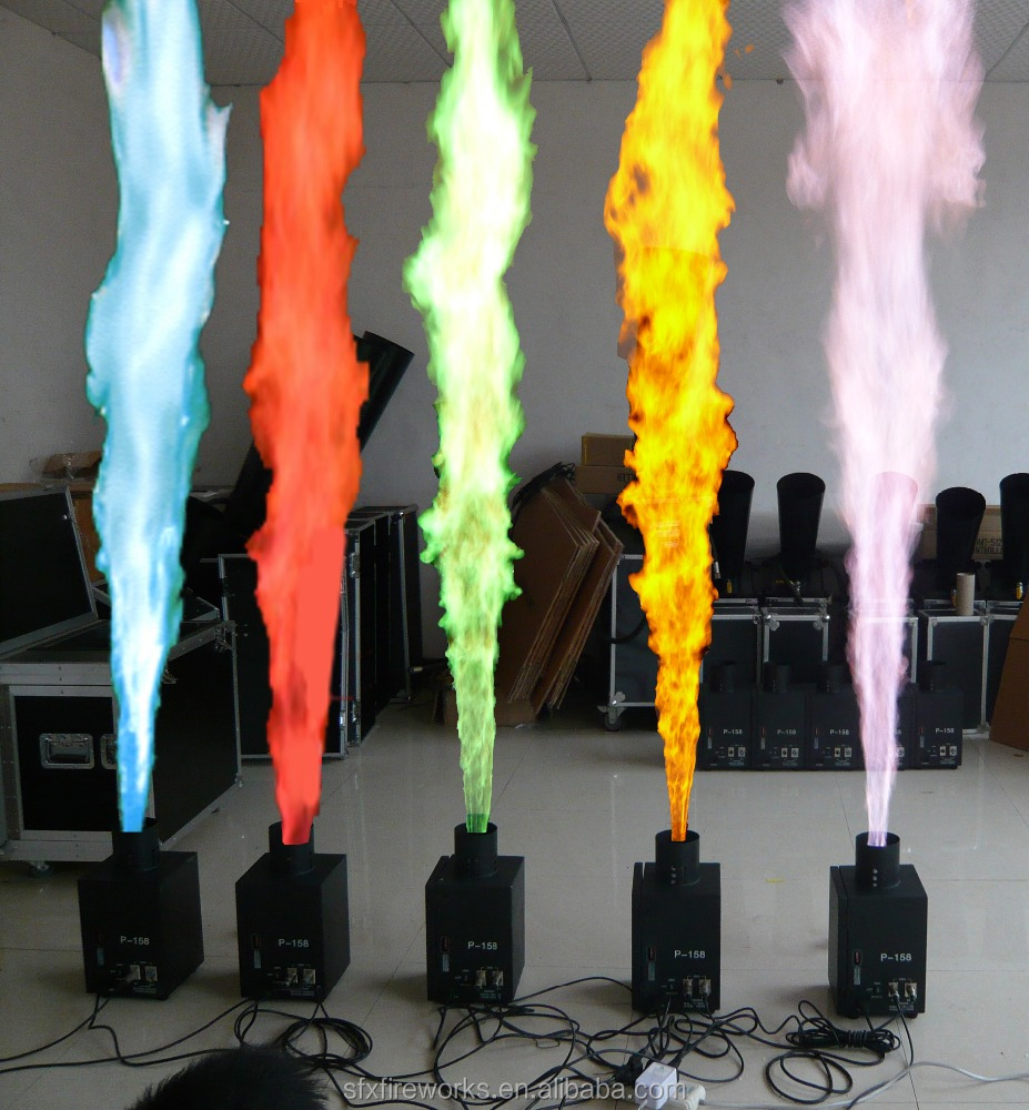 color flame machine