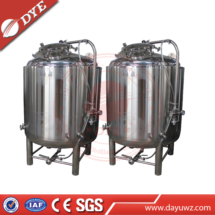 China alcohol/Beverage storage tanks made by food grade stainless steel