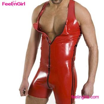Mens sexy bodysuit