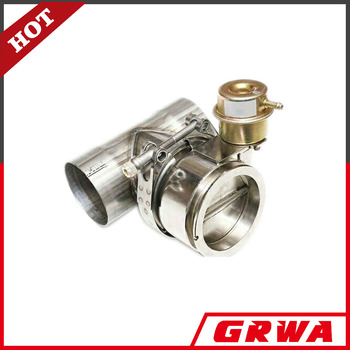 Stainless steel normlly-closed exhaust valve with T pipe