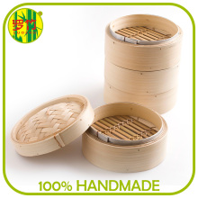 Strong and Durable Metal Rim Commercial Dumpling Steamer