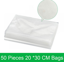 Heat Sealing Resealable Food Vacuum Plastic bags For Frozen