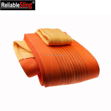 High Flexible Heavy Duty Pipe Soft Lifting Sling 10t Orange Color