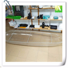 Vacuum Formed Clear PC Plastic Kayak Plastic BoatClear Canoe