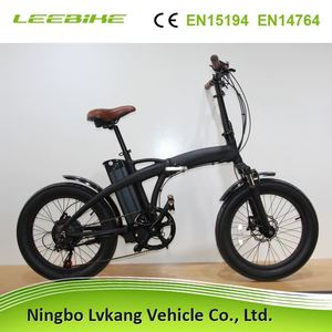 36V Aluminium alloy frame ebike/ China 20inch fat tyre electric fat bike