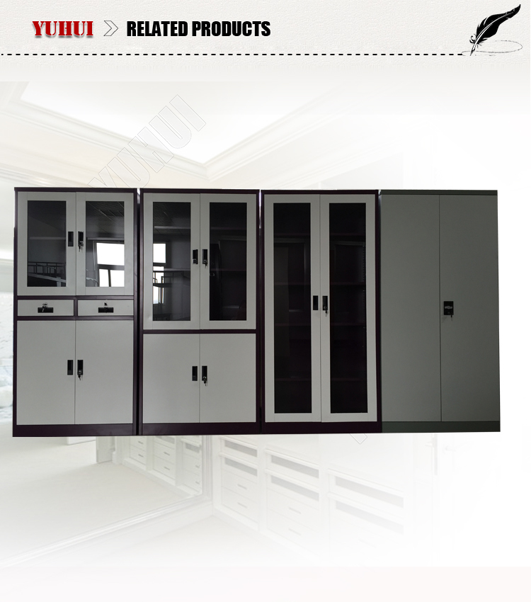 2 door disassembly steel cupboard design / double door metal filing 4 door metal filing cabinet