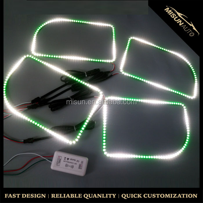 High performance 258mm 102smd color chase halos with high quality regulator