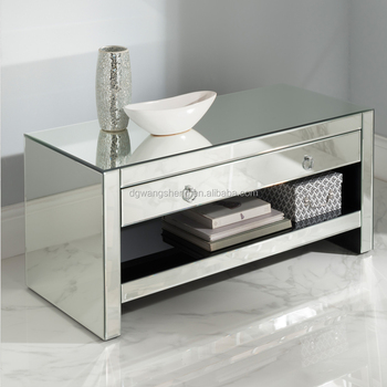 Fashion Style Simple Home Furniture Mirrored Tv Cabinet