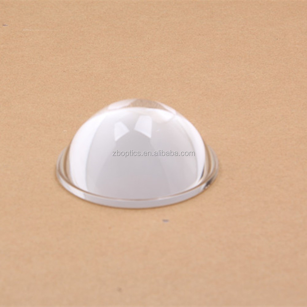 Compass and Magnifier Glass Paperweight Glass Bubble Dome
