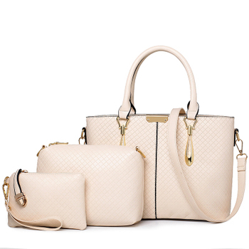 2014 christmas pattern new model purses and ladies hand bags of set 3 pcs in one - Christmas Purses Handbags