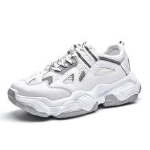 32bc06917 PDEP 5 سنتيمتر ارتفاع الرجال الرياضة أحذية الركض الرحلات شبكة الدانتيل يصل  الاحذية الأزياء size39-