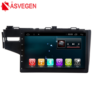 Car Video Player 10.2'' For Honda Fit Car Navigation With Touch Screen Support Wifi Headrest,dvd,gps