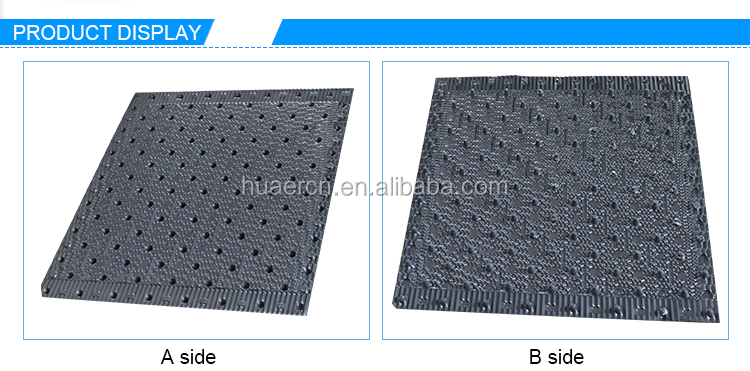 750mm*800mm Square Cooling Tower PVC Fill Pack, PVC Filling For Cooling Tower
