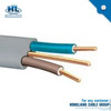 14 AWG 2 conductors moisture resistant &flame retardant pvc jacket flat cable for dry locations