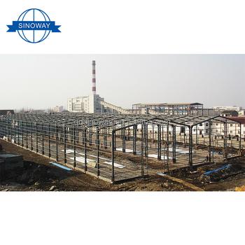 Fabrik Preis Billig Leichte Stahlkonstruktion Gewachshaus Hangar Mit
