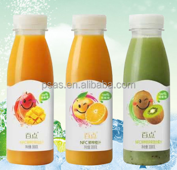 250ml 350ml 500ml 12oz PE PET Plastic Bottles for Juice with Cap