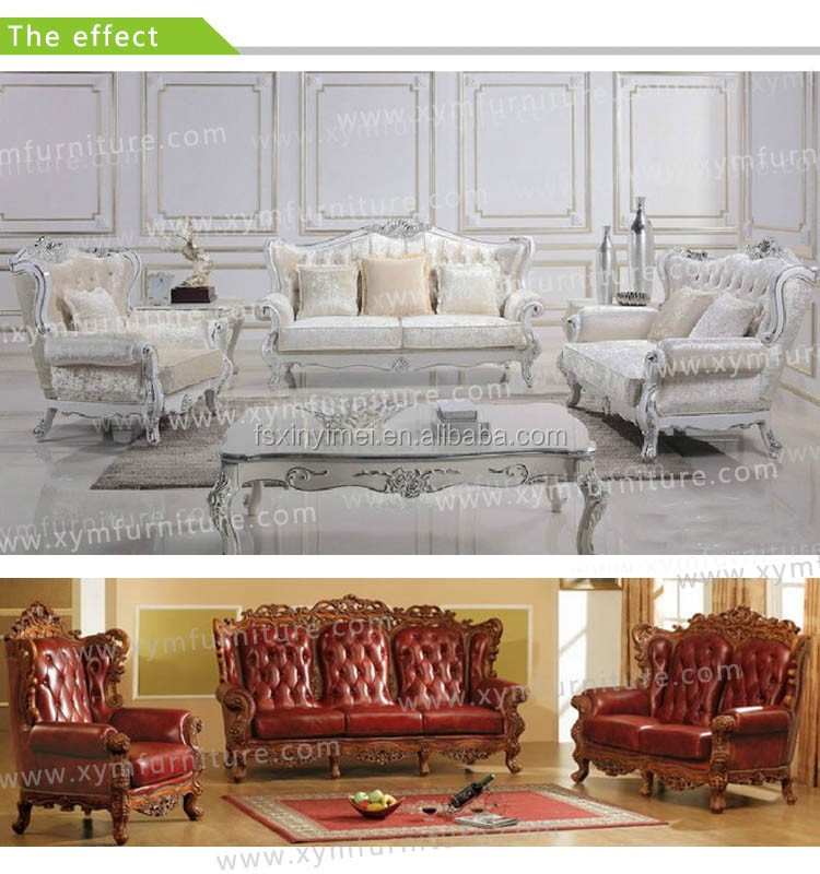 American royal home furniture living room two seat sofa