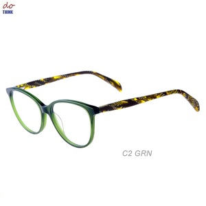Bright color chinese wholesale polycarbonate acetate optical eyeglasses