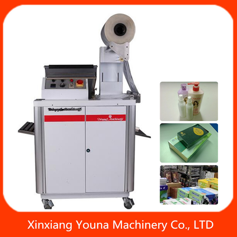 FM400 2 in 1 shrink packager for cigarette/cosmetic /moblie box