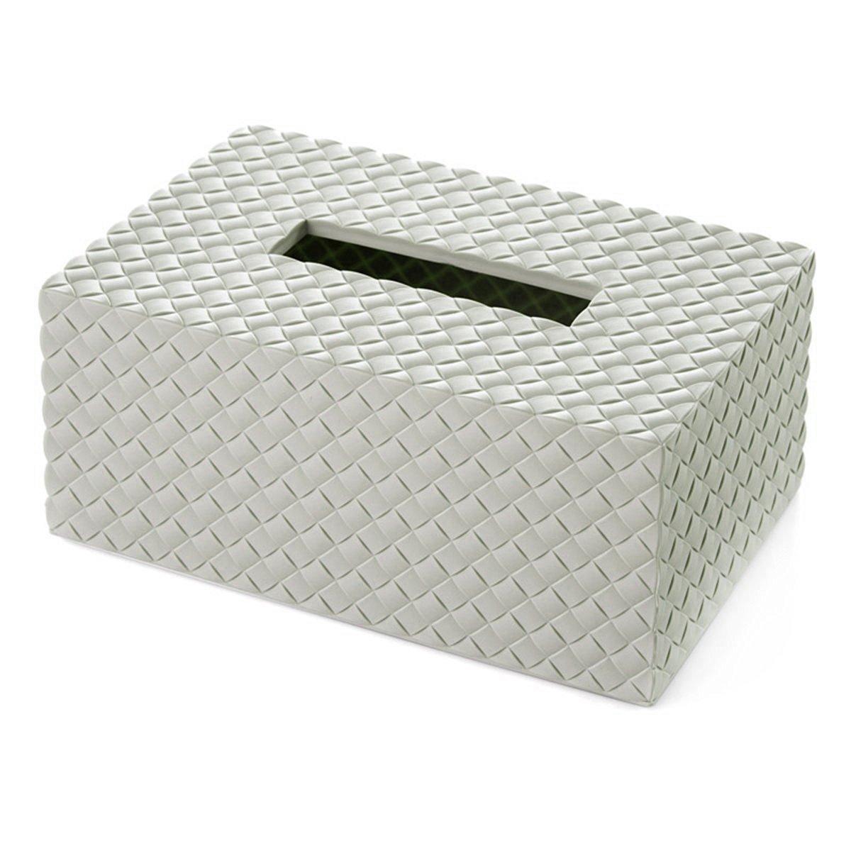 Happy Will Rectangular Tissue Box Cover Case Holders Napkin Holder Organizer