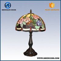 Colored Replacement Glass Table tiffany lamp staind glass Lamp Shade in china factory