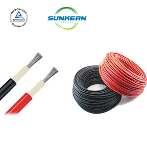 TUV UV Resistant PV Solar Cable 6mm2 Solar pv wire for Solar Panel and Solar PV System