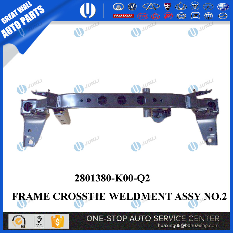 2801380-K00-Q2 FRAME CROSSTIE WELDMENT ASSY NR 2 IN HOVER H3, GROTE MUUR