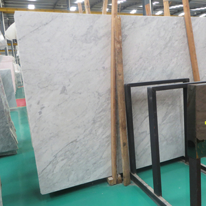 "Newstar Sale Cheapest Natural Stone Veneer Italian White Carrara Marble Slab And Tile Price 3""Thick Size"