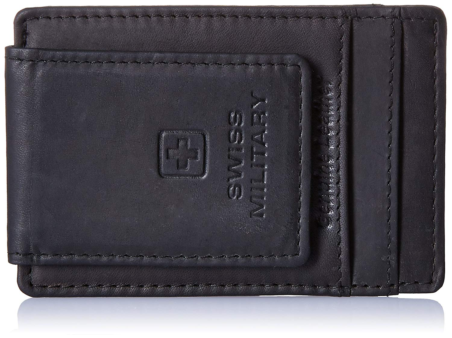 Swiss Military Leather Wallet Brown