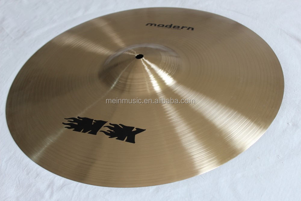 "B20 material cymbal /professional cymbals for drum set/100% handmade,14"" MK brand modern series stacker cymbal"