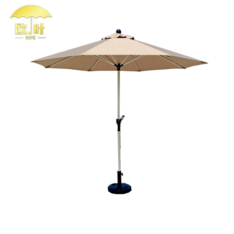 New coming different sizes garden parasol white