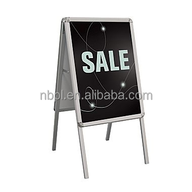 Snap frame A frame sign , A board poster stand