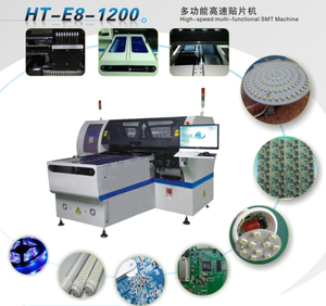 At the same time produce two products LED light multi-functional making machine/electronic components making machine