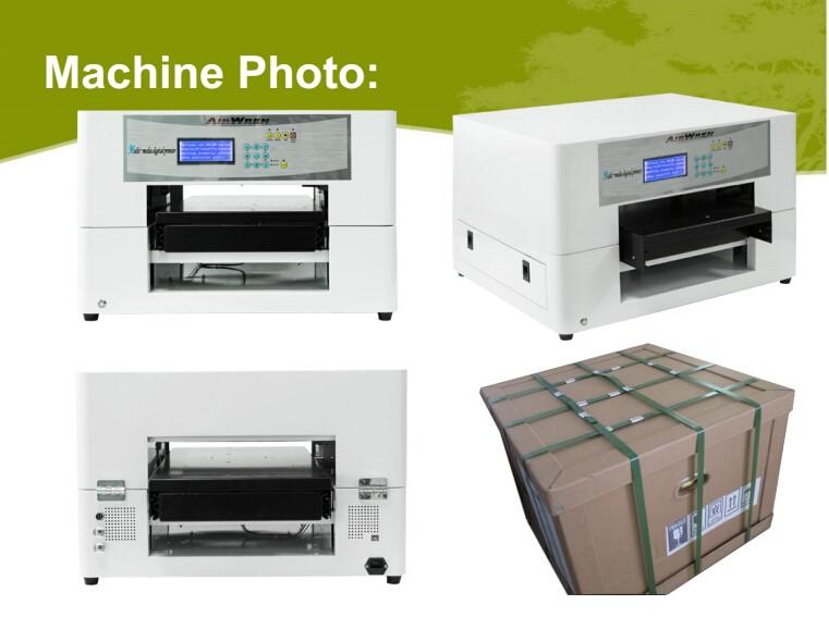 A3 digital garment printing machines DTG inkjet t-shirt printer