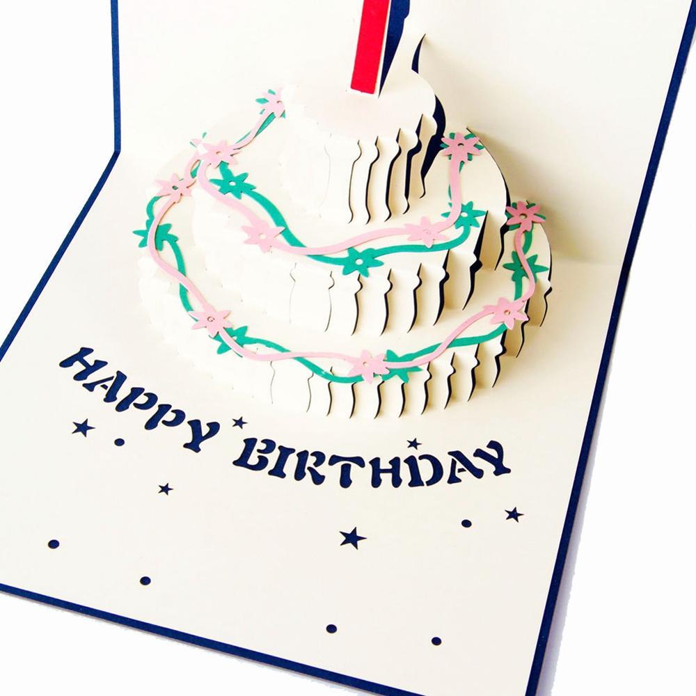 Торты из бумаги открытки с днем рождения, валентине