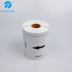 Olantai brother compatible labelsDK11241 DK 1241 thermal paper 102 x 152mm,200 labels per roll
