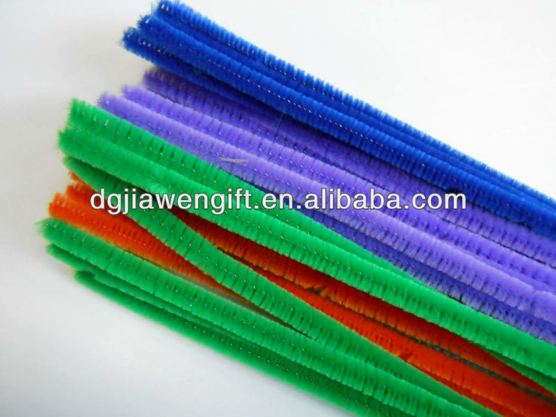 School Educational Project 6mmx30cm craft chenille stems