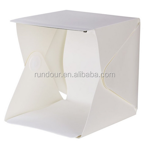 New Mini rundour Foldable Light box Portable Light Room for Photo Studio Photography Background Box Light Tent Kits