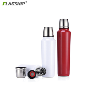 500ML 750ML 1000ML High Quality 18/8 Stainless Interior 304 Stainless Steel Flask Double Wall Vacuum Thermos