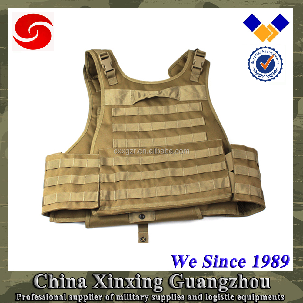 US tactical Lightweight Bulletproof vest body armor with level 4 plate