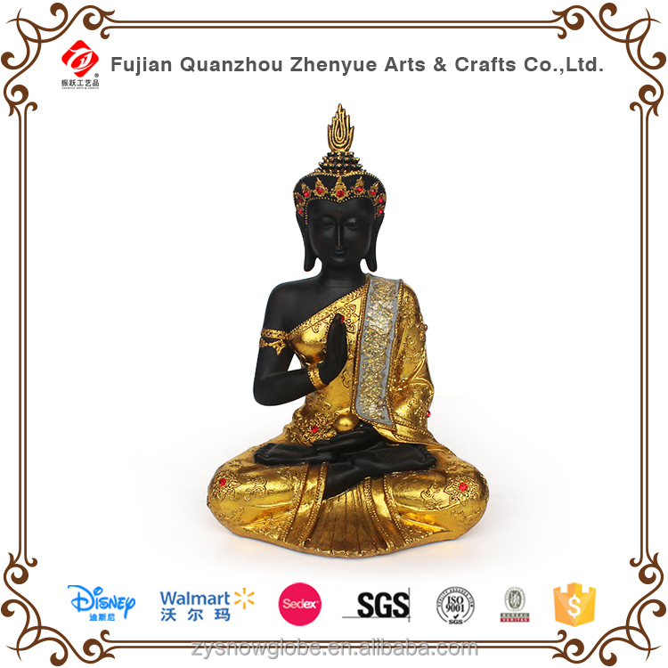 Resin handcrafts religious Buddha ornament