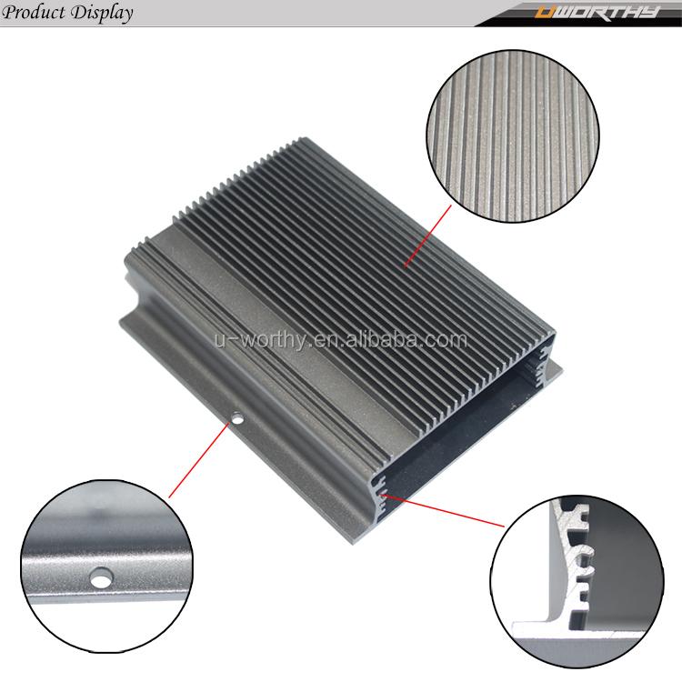 Personalizado Caixa De Extrusão De Alumínio/Alumínio Extrudado Gabinete para Eletrônica