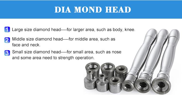 Durable exfoliatores diamond microdermabrasion peel machine beauty equipment