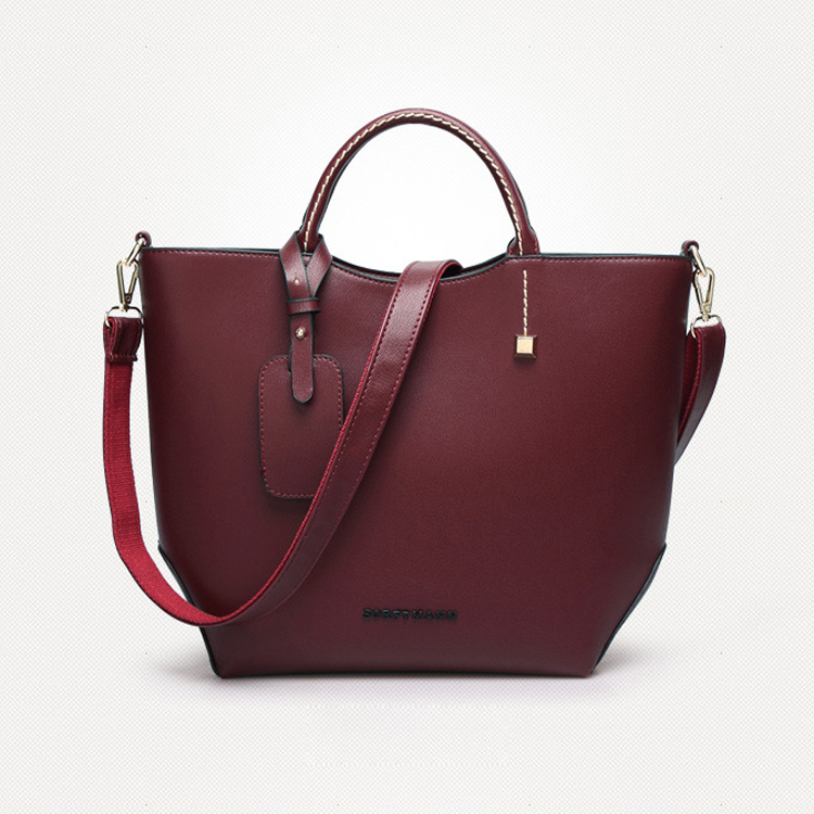 China factory Hot sale PU leather designer hand bag ladies