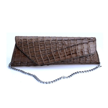 custom design luxury genuine crocodile clutch handbag for ladies clutch bag 2015